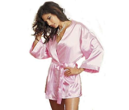 Waooh - Lingerie - Small Robe Satin Rose