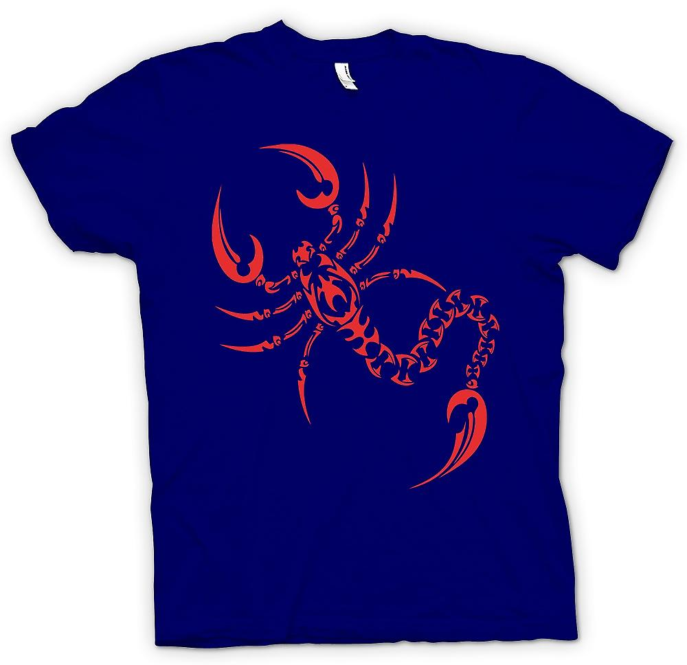 Hommes T-shirt - Scorpion Tribal Design