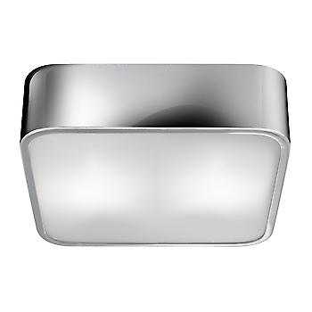 Searchlight 1030-25CC Chrome Small Modern Ceiling Flush