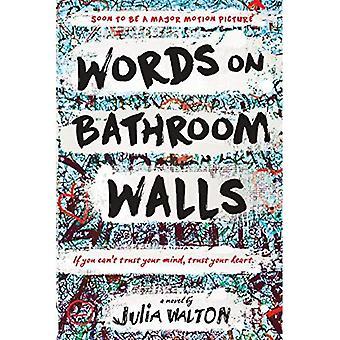 Ord på badeværelset vægge
