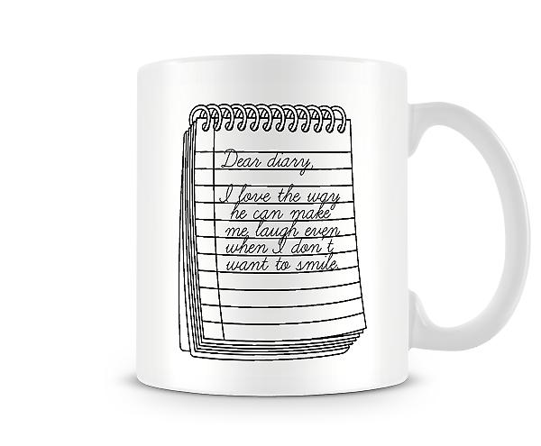 Dear Diary I Love The Way Mug