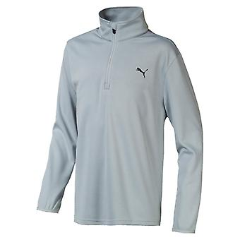 PUMA boys 1/4 zip children sweater grey