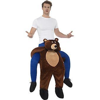 Costume orso sulle spalle sul dorso costume