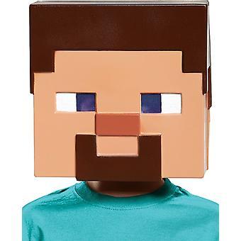 Minecraft-Steve-Maske