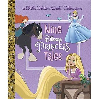Nine Disney Princess Tales (Disney Princess) by Rh Disney - Rh Disney