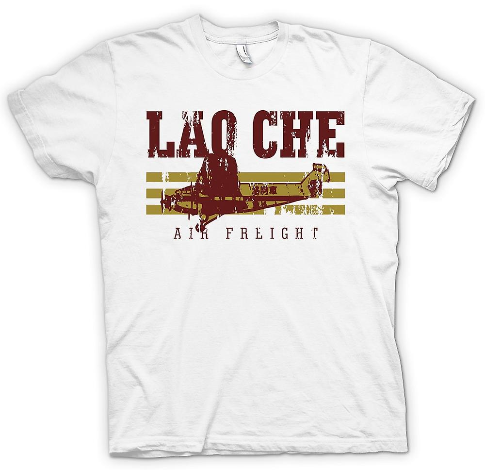Mens T-shirt - Lao Che Air Freight - Indiana Jones Inspired
