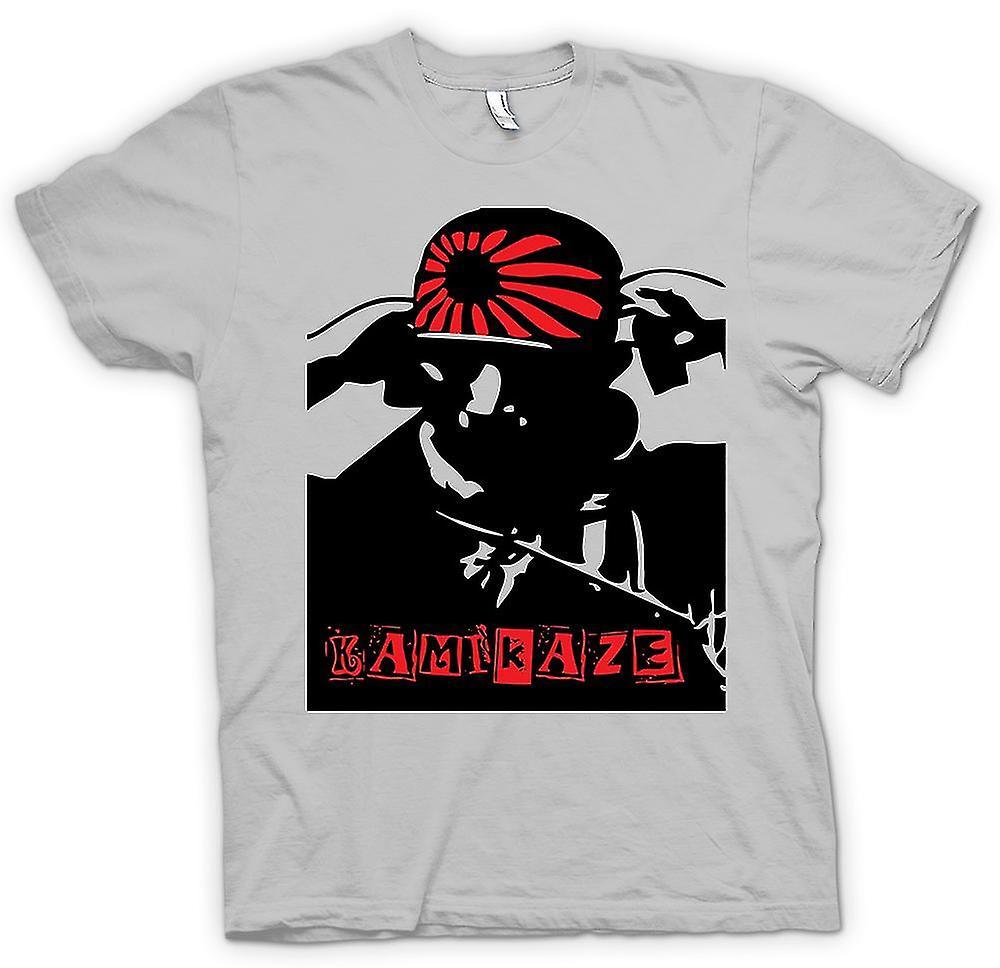 hommes t shirt kamikaze japonais guerre ww2 fruugo. Black Bedroom Furniture Sets. Home Design Ideas