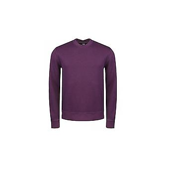 Hugo Boss Casual Hugo Boss Men's Purple World Sweatshirt