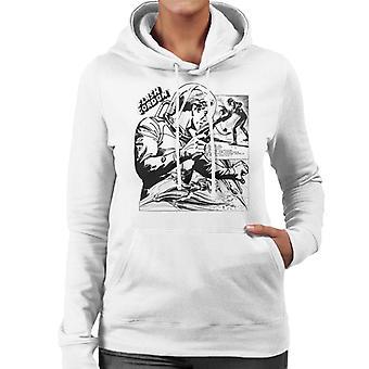 Flash Gordon Space Suit Montage Women's Hooded Sweatshirt