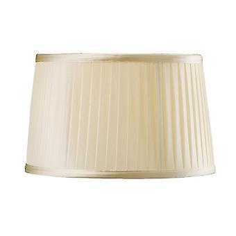 Diyas Willow Fabric Shade Cream 260/300mm X 190mm