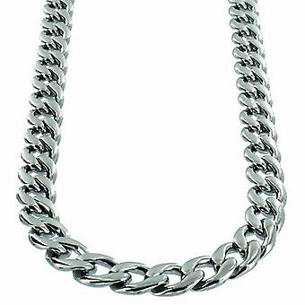 Necklace Stainless Steel Curb Link 9mm