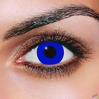 Royal Blue Contact Lenses (Pair)