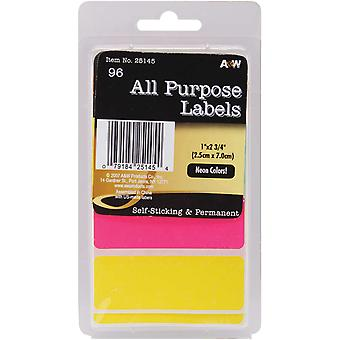 Labels Neon All Purpose 1