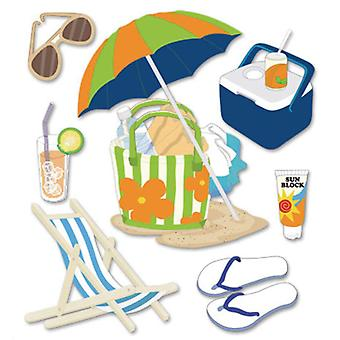 Jolee's Boutique Dimensional Stickers Summer Gear Spjb 416