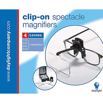 Clip On Spectacle Magnifier Black U91171