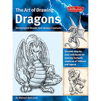 Walter Foster Creative Books Drawing Dragons, Beasts, And Fantasy Wfc 47710