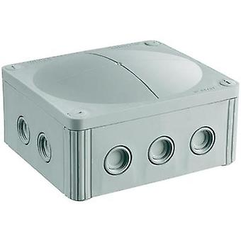 Junction box (L x W x H) 160 x 140 x 81 mm Wiska 10101459 Grey
