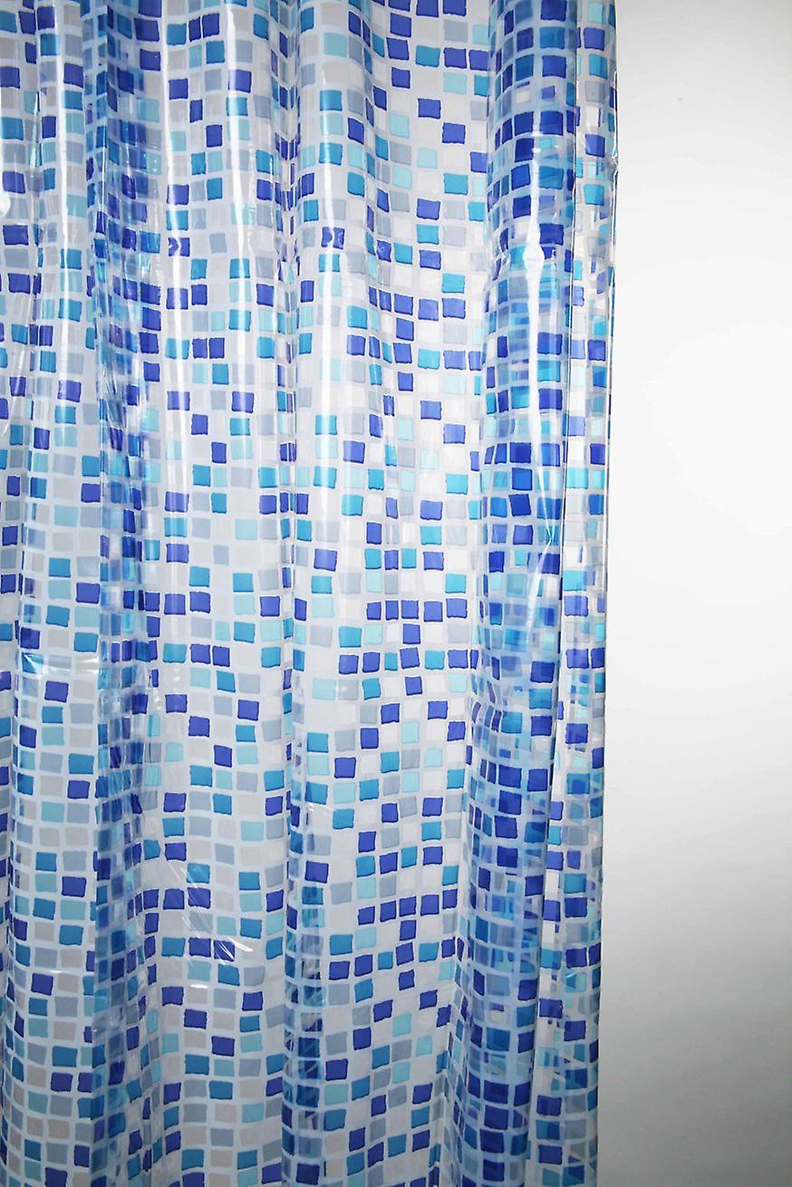 Mosaic Design Peva Shower Curtain 180 X 180cm
