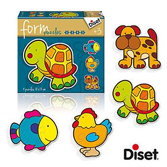 Diset Form Tortuga (Kids , Toys , Table Games , Puzzles)