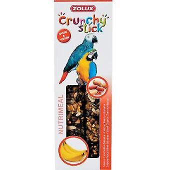 Zolux Banana Sticks Parrot Zolux (Vogels , Snacks , Papegaaien)