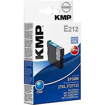 KMP Ink replaced Epson T2712, 27XL Compatible Cyan E212 1627,0003
