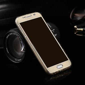 Krystal case cover til Samsung Galaxy touch 3 guld ramme hele kroppen