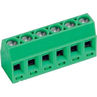 Screw terminal 1.00 mm² Number of pins 4 AKZ602/4-3.81-V PTR Green 1 pc(s)