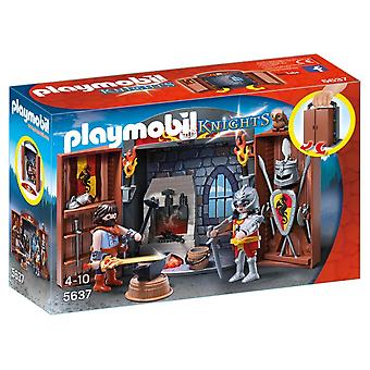 Speelbox Ridder en Smid Playmobil (5637)