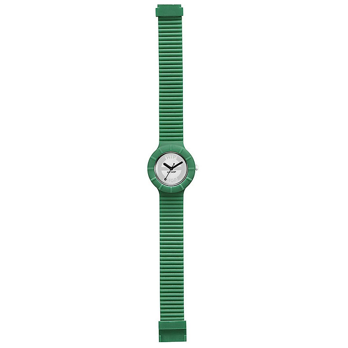 Hip hop watch wrist watch silicone watch hero small green HWU0235