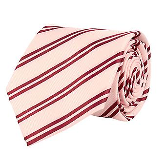 Frédéric Thomass mens tie classic ties pink striped 8.5 cm