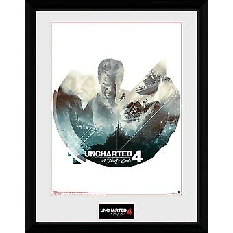 Uncharted 4 boten Collector Print
