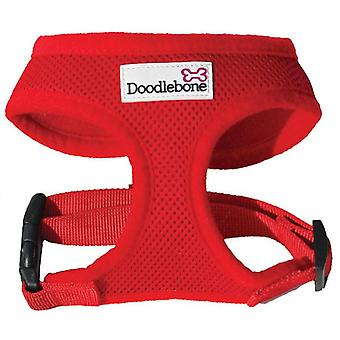 Doodlebone Harness Red Extra Small 28.5-39cm