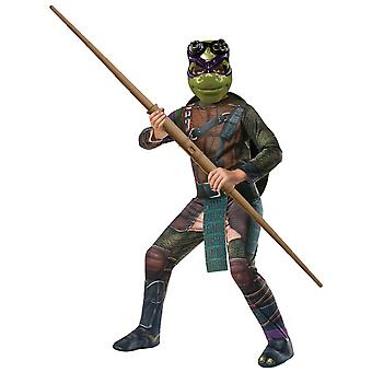 Donatello Teenage Mutant Ninja Turtle superhelte drenge kostume