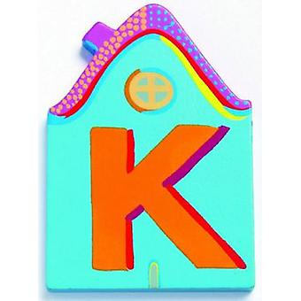 Djeco Cottage Letter - K (Babies and Children , Toys , Others)