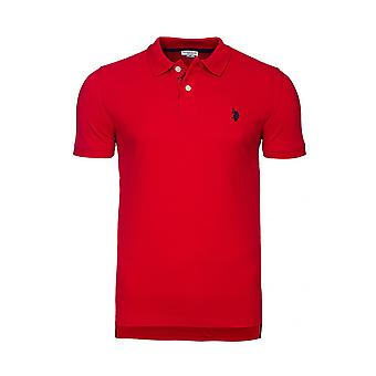 U.S. POLO ASSN. Shirt men's Polo Shirt red 41029 155