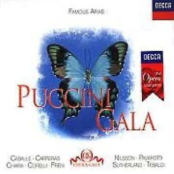 G. Puccini - Giacomo Puccini: Puccini Gala [CD] USA import