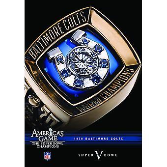 NFL Amerika spil: 1970 Colts (Super Bowl V) [DVD] USA importerer