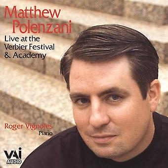 Matthew Polenzani - Live at the Verbier Festival & Academy [CD] USA import