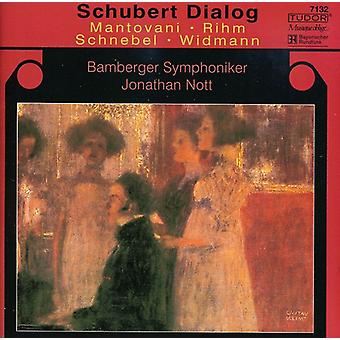 Schubert/Rihm/Mantovani - Schubert dialogboksen [CD] USA import