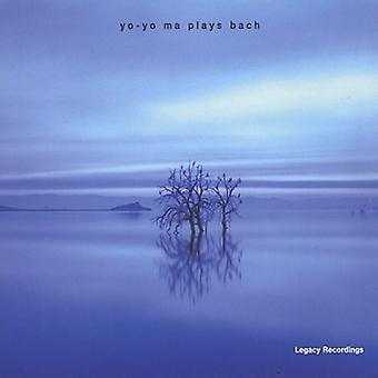 Yo-Yo Ma - Yo-Yo Ma speelt Bach [CD] USA importeren