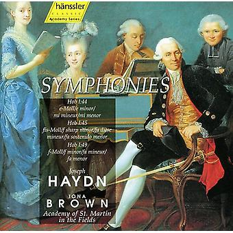 J. Haydn - Haydn: Symphonies, Hob. 1:44, 1:45, 1:49 [CD] USA import