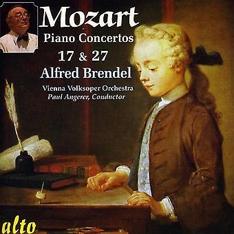 W.a. Mozart - Mozart: Piano Concertos Nos. 17 & 27 [CD] USA import