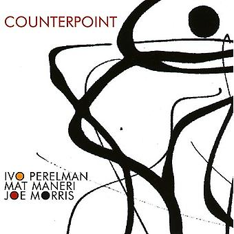 Perelman, Ivo / Maneri, Mat / Morris, Joe - kontrapunkt [CD] USA import