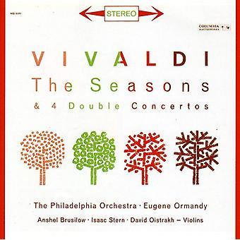 Anshel Brusilow - Vivaldi: Sæsoner; 4 dobbelt koncerter [CD] USA importerer