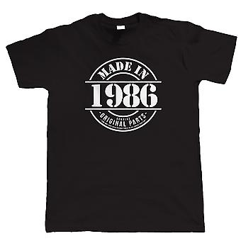 Made in 1986 Mens Funny T Shirt
