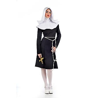 Nun Nun costume pop sister ladies costume monasteries