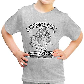 Gamgees Potatoes Lord Of The Rings Kid's T-Shirt