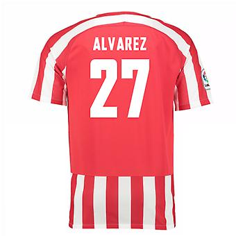 2016-17 Athletic Bilbao Home Shirt (Alvarez 27)
