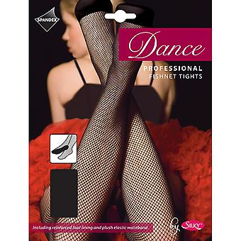 Silky Womens/Ladies Dance Professional Fishnet Tights (1 Pair)