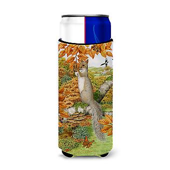 Grey Squirrel Ultra Beverage Insulators for slim cans